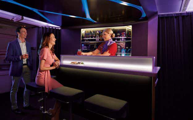 Virgin Australia struts its stuff with launch of swish new business class cabin