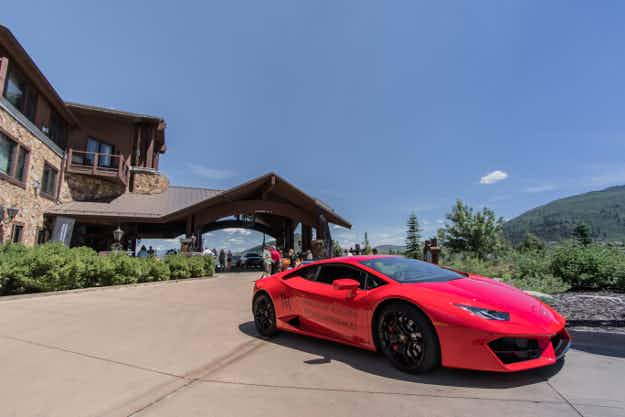 Guests at Waldorf Astoria hotels will have the chance to drive a Lamborghini
