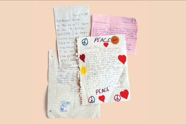 Children's mementos from Bosnian conflict touring the country to help heal wounds