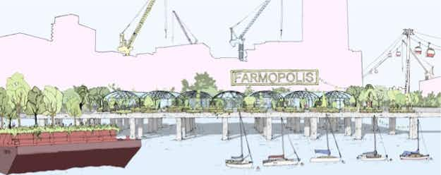 London is getting a floating garden featuring plants recycled from the Chelsea Flower Show