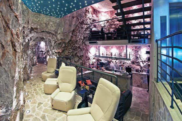 Živjeli! Enjoy a drink at an underground cave bar in Croatia