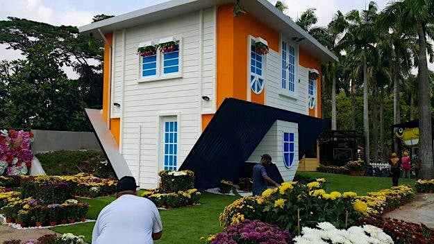 Come Hang Out In Malaysias Newest Upside Down House