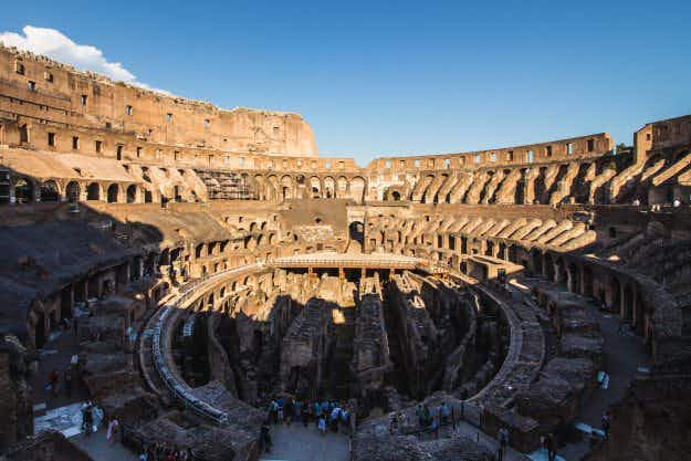Tourists are about to get the chance to enter the Colosseum like a gladiator
