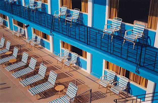 Blue Marlin Motel: in the popular Jersey Shore resort.