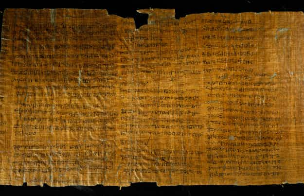 Oldest example of Egyptian writing goes on public display in Cairo museum