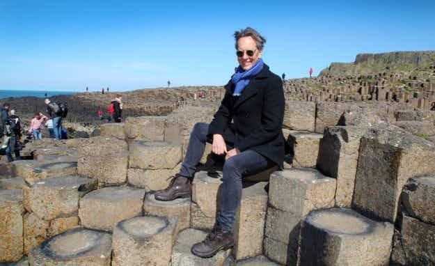 Actor Richard E Grant explores Ireland's rugged coastline in series of online videos