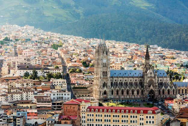 Quito in Ecuador is named Latin America's leading travel destination