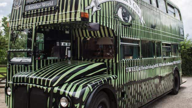 Thirsty in London? Why not board the travelling gin bus?