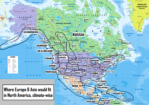 Colourful climate comparison maps show the surprising ... on canada weather forecast map, los angeles temperature map, world temperature map, canada wind map, canada weather today, canada weather radar, north america climate map, canada climate map, 2014 us winter temperature map, canada weather 14-day, vancouver temperature map, canada rainfall map, weather network satellite map, weather temp map, british columbia temperature map, canada winter climate, canada humidity map, united states by average temperature map, weather ontario canada map, forecast temperature map,
