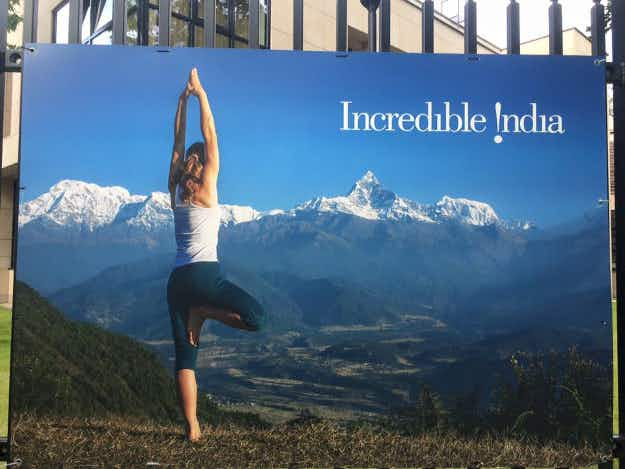 Tourism department accidently puts Nepal on 'Incredible India' poster