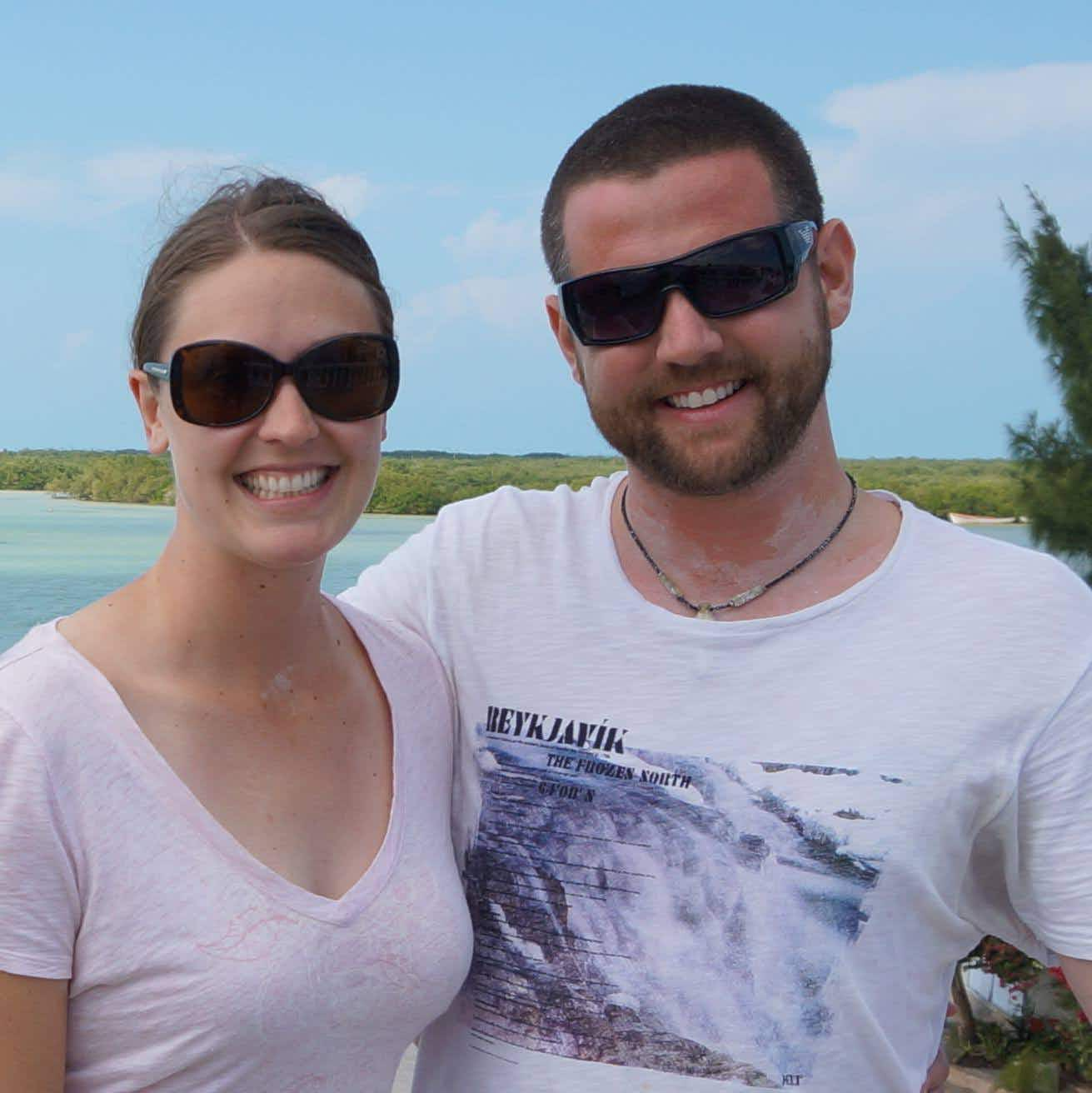 Canadian couple quit work to travel the world eight years ago and haven't stopped since
