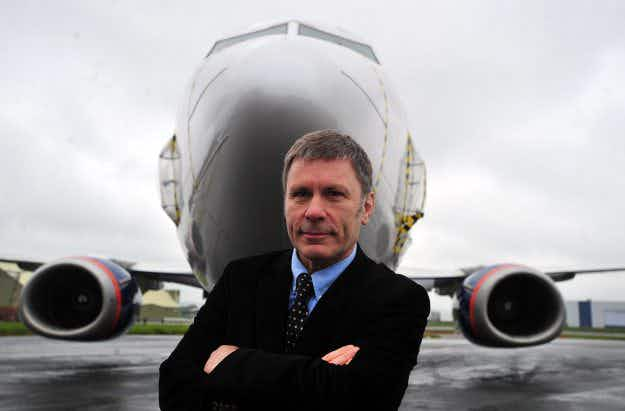 Iron Maiden frontman Bruce Dickinson relaunches African airline's passenger service