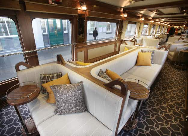 All on track as Ireland's first luxury sleeper train goes on tour