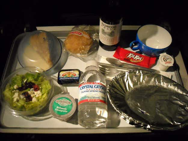British Airways cuts the number of meals provided for economy passengers