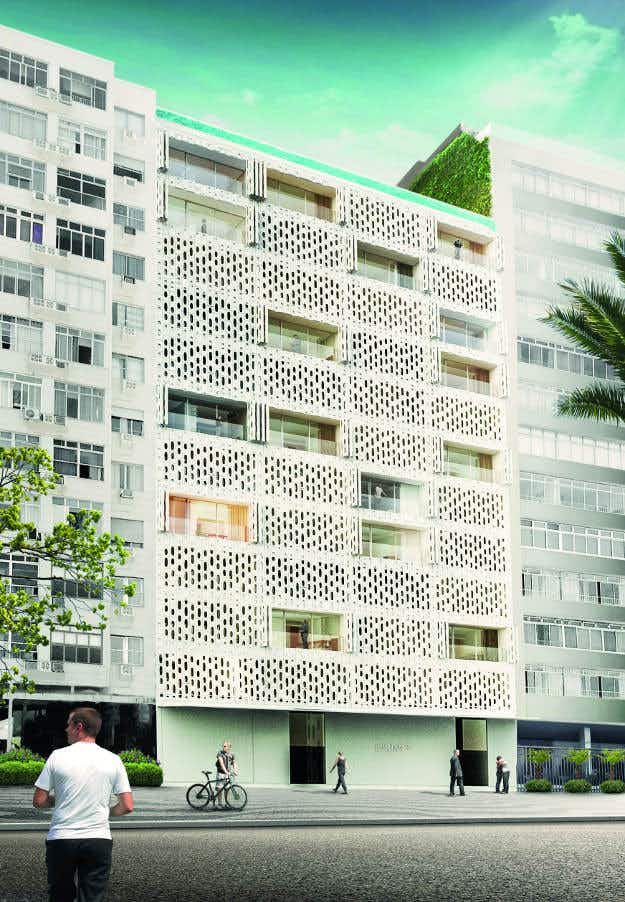 Take a sneak peek inside the design-forward Hotel Emiliano on Rio's Copacabana Beach