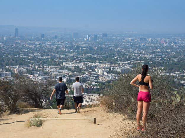 LA's favourite hiking spot Runyon Canyon reopens after months of repair work