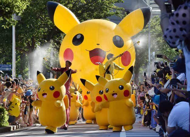 Passionate Pokémon fans party at Pikachu parade in Yokohama