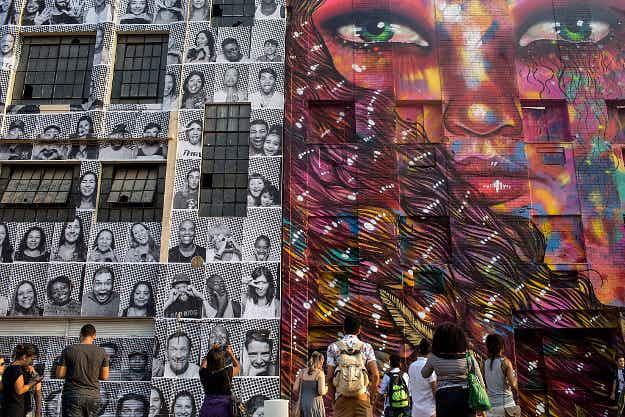 See Rio de Janeiro's new public art celebrating the 2016 Olympics