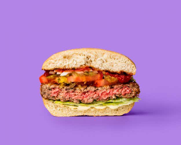 The 100% meat-free and bleeding burger that's taking NYC by storm