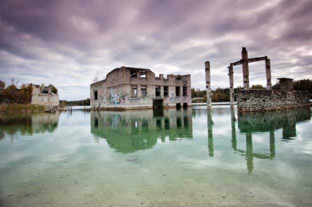 Incredible photos show Europe's abandoned buildings from totalitarian regimes