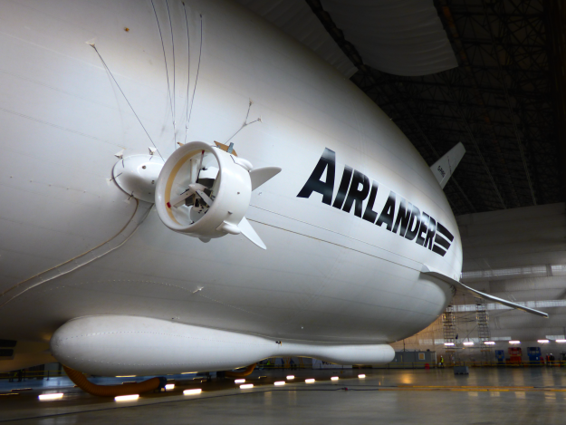 World's largest aircraft leaves hangar for the first time