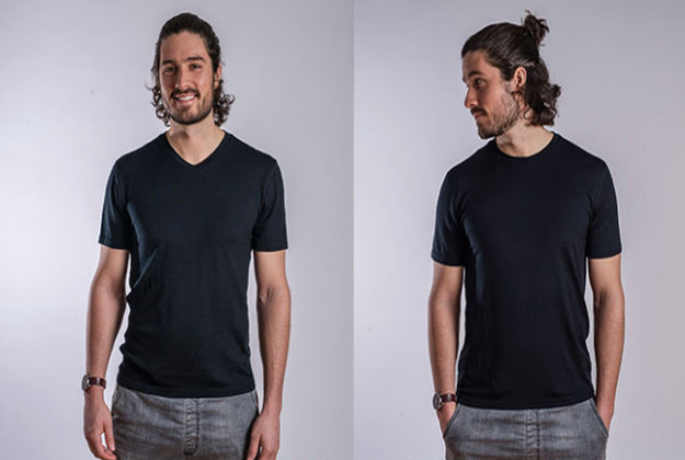 Travelling light - now you can with clothes that don't need washing for weeks