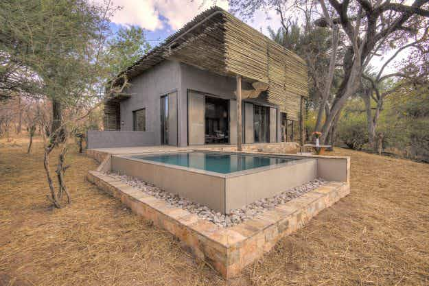Luxury Matetsi River Lodge offers unique travel experience in South Africa