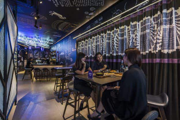 This new hostel in Singapore has a database that connects like-minded guests online