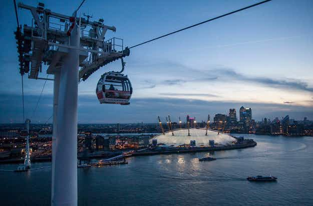 London's Thames cable car wants to become a cable bar on the Emirates Air Line