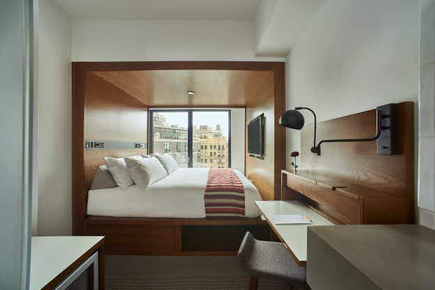 Why tiny rooms hotels are going to be a big trend in New York City