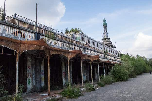 Italy holds hide and seek championship in abandoned town
