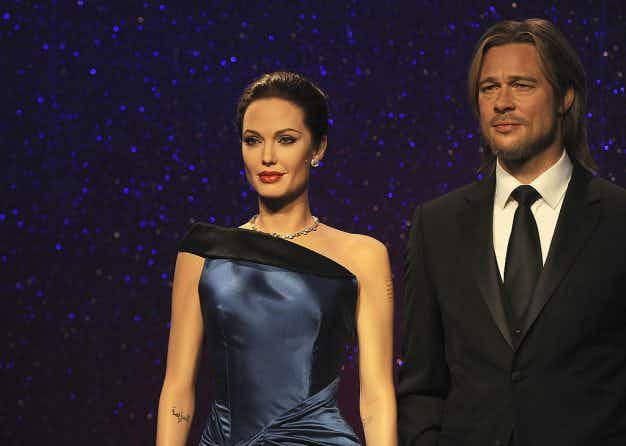 Oh the devastation! Brangelina's wax figures have been separated at Madame Tussauds