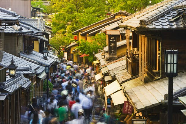 Kyoto police in Japan will point the way for tourists with QR codes
