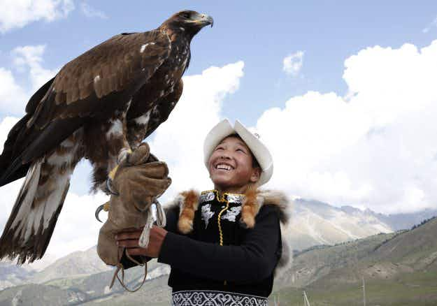 Incredible pictures from the World Nomad Games 2016 in Kyrgyzstan