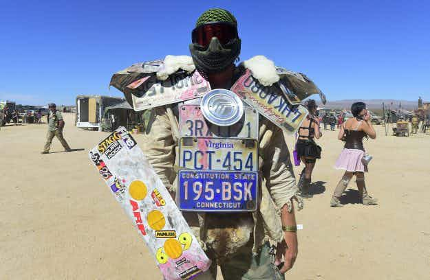 In pictures: world's largest post-apocalyptic festival in the Mojave Desert