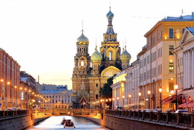 St Petersburg named Europe's leading destination at the World Travel Awards