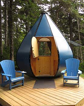 See the quirky new accommodation options being tested in Canada's national parks