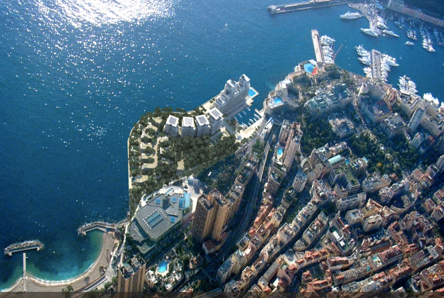 Monaco 'extending' its boundaries by building luxury apartments in the sea
