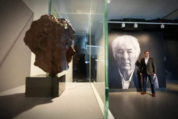 An arts and literary centre dedicated to poet Seamus Heaney opens in Northern Ireland