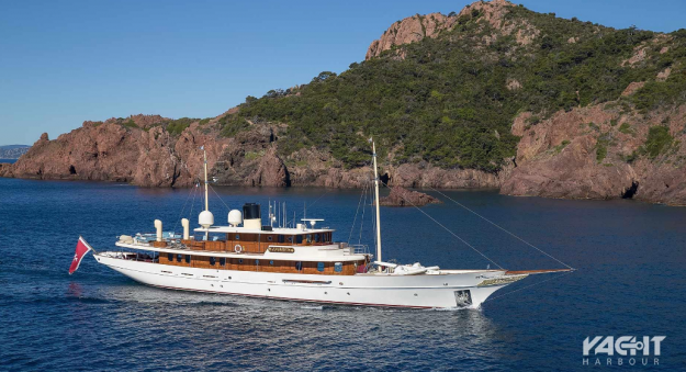 Now you can buy JK Rowling's luxury yacht for millions less than she paid for it