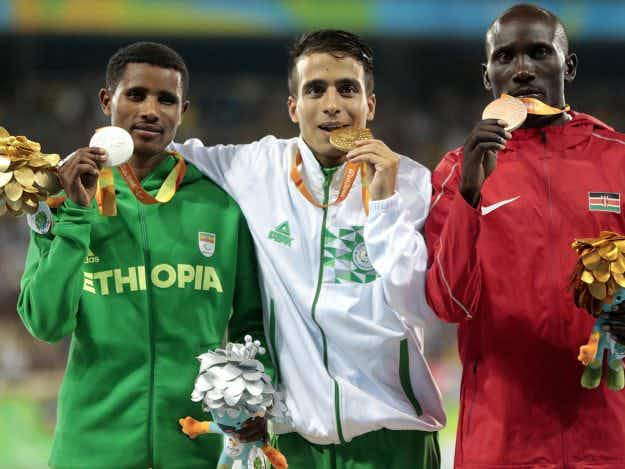 Top four 1500m Paralympians finish faster than Olympic gold medalist