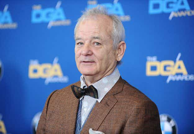 If you're lucky enough to score an invite, you can see Bill Murray bartending in Brooklyn