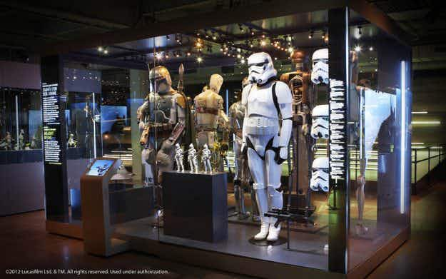 Droids and bikinis star in massive new Star Wars exhibition in London