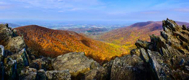 This new map will help you find the best fall foliage in the United States