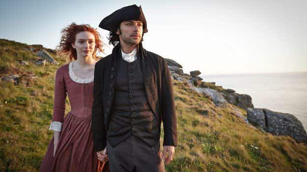 Cornwall sees a huge boost in tourism as second series of Poldark hits small screens