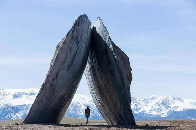 See this incredible artwork and beautiful scenery at a rural Montana arts centre