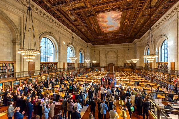 In Pictures: the historic Rose Reading Room at the New York