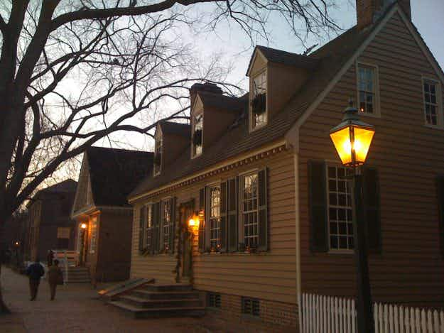 Have a very spooky Halloween by staying at one of the Haunted Colonial Houses of Williamsburg