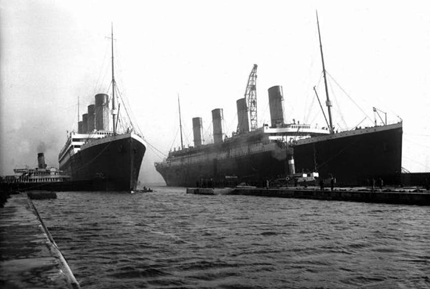 Titanic's sister ship Britannic could become a diving attraction in Greece  - Lonely Planet
