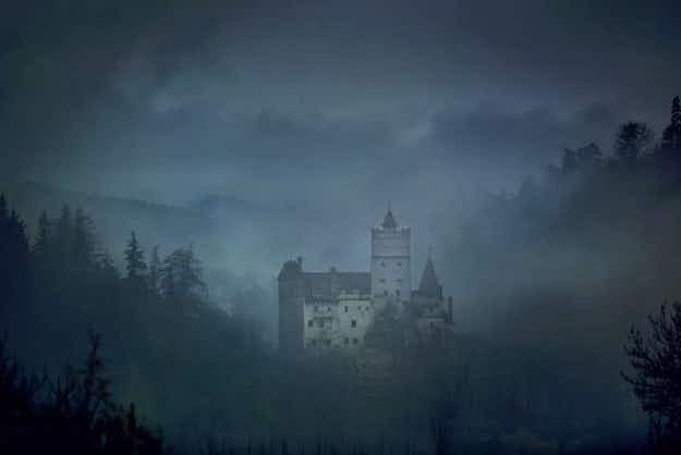 Are you brave enough to spend Halloween night in Dracula's castle in Transylvania?